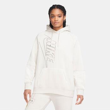 Nike Sudadera Sportswear Icon Clash  mujer Blanco
