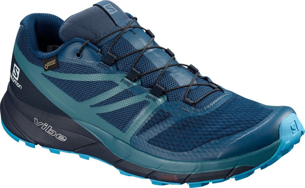 Salomon - SENSE RIDE2 GTX INVISIBLE FIT - Hombre - Zapatillas Running - 44 2/3