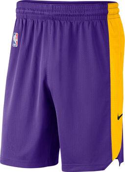 Nike Short LALNK SHORT PRACTICE 18 NBA hombre Púrpura