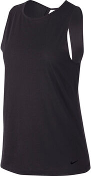 Nike Dri-FIT Women's Open-Back Training Tank   mujer Negro