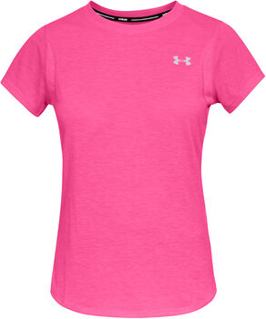 Under Armour Camiseta m/c UA Streaker 2.0 Short Sleeve mujer Rosa