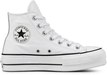 Converse Zapatilla CTAS LIFT CLEAN HI WHITE/BLACK mujer