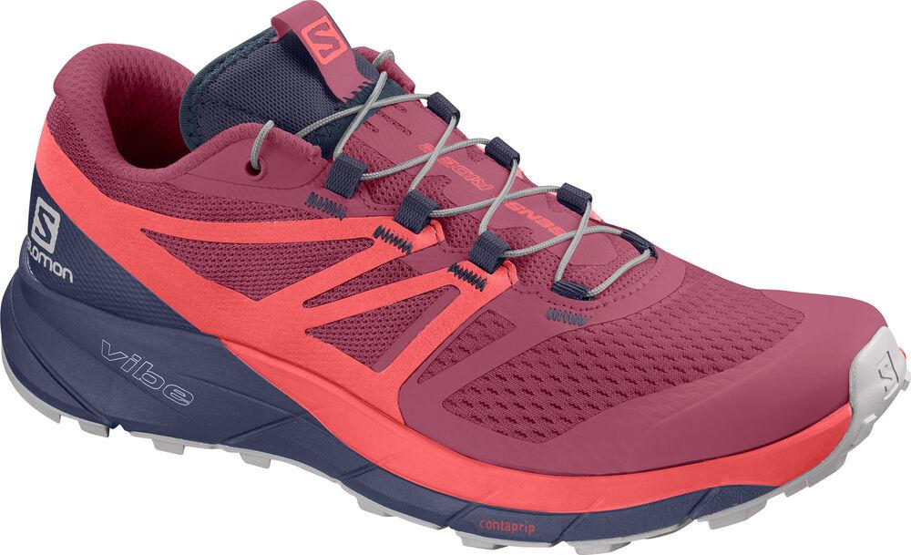 Salomon - SENSE RIDE 2Malaga/Dubar - Mujer - Zapatillas Running - 38