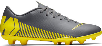 Nike Botas fútbol  Mercurial Vapor 12 Club MG hombre Gris