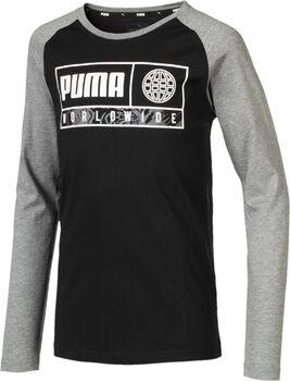 Puma Camiseta m/c Alpha Graphic Longsleeve Tee B niño