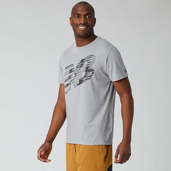 New Balance Camiseta Graphic Heathertech T hombre