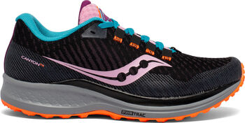Saucony Zapatillas trail running Canyon TR mujer Negro