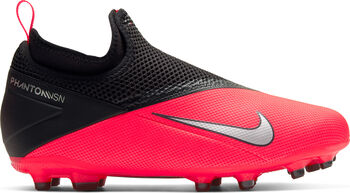 Nike Phantom Vision 2 Jr.Academy Dynamic Fit MG niño Rojo