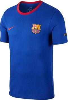 Camiseta fútbol FC Barcelona Nike TEE CREST hombre Azul