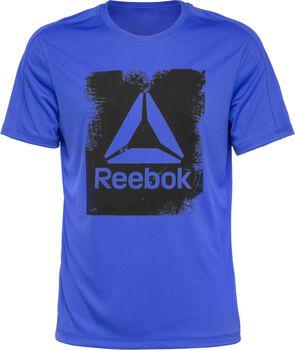 Reebok Actron Tech Tee Hombre Azul
