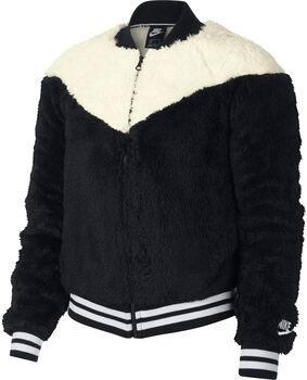 Nike Sportswear Jacket Bomber Wolf  mujer Negro