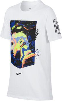 Camiseta fútbol Nike Neymar B Dry Tee Hero Niños Blanco