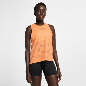 Nike TANK AIR mujer Naranja