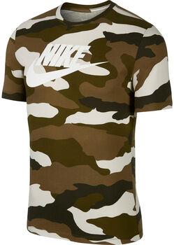 Nike Camiseta m/c M NSW SS TEE CAMO 1 hombre