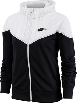 Nike W NSW HRTG HOODIE FZ PK mujer Negro
