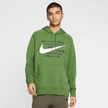 Nike Sudadera Sportswear Swoosh Men's F hombre Verde
