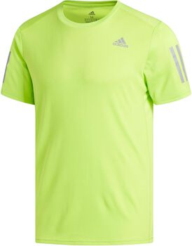 ADIDAS  Response Camiseta Manga Corta Hombre Running Amarillo