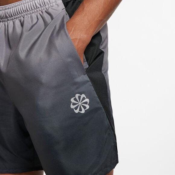 Pantalón Running corto a rayas Challenger de 7 pulgadas