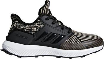 adidas RapidaRun Knit Zapatilla Niño Running Negro