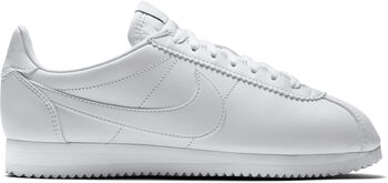 Nike Classic Cortez Leather Mujer Blanco