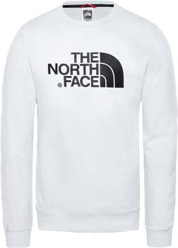The North Face Sudadera de felpa ligera con cuello redondo Drew Peak hombre