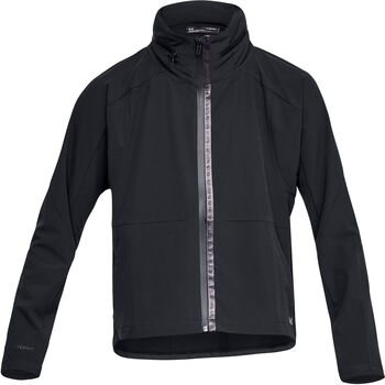 Under Armour Unstoppable Woven Fz mujer Negro