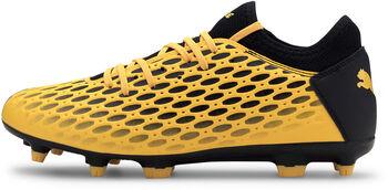 Puma Botas de fútbol FUTURE  FG/AG  hombre Amarillo
