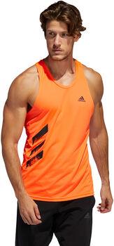 adidas Camiseta sin mangas Own the Run PB 3 bandas hombre