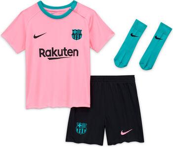 Nike Tercera equipación bebé FC Barcelona 2020/2021 niño Rojo