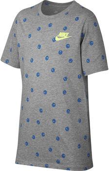 Nike Sportwear Tee Swoosh Smile AOP  Gris