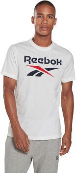 Reebok Camiseta Manga Corta Big Logo hombre