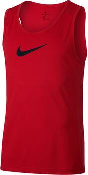 Nike Camiseta s/m M NK DRY TOP SL CROSSOVER BB hombre Negro