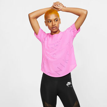 Nike Air ShorSleeve Running mujer