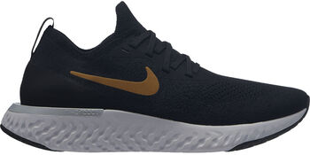 Wmns Nike Epic React Flyknit mujer Negro