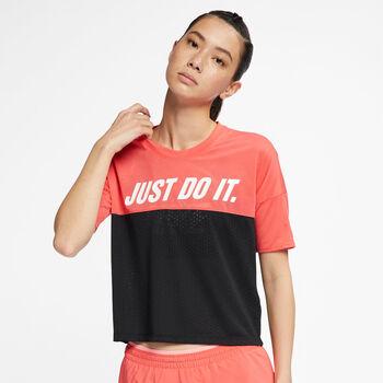 Nike TAILWIND TOP SS SD mujer Naranja