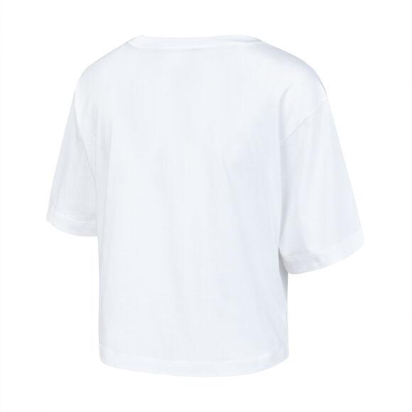 Camiseta manga corta Cuello Caja  'Crop Top'