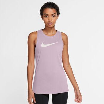 Nike Camiseta de tirantes Icon Clash mujer Púrpura