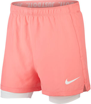 Nike Short Dri-FIT Girls 2-in-1 Trai niña Rojo
