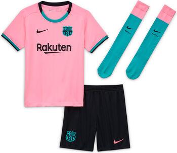Nike Tercera equipación infantil FC Barcelona 2020/2021 niño Rojo