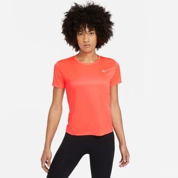 Nike Camiseta m/c Miler mujer Naranja