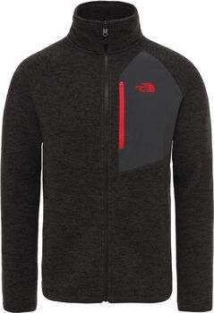 The North Face SudaderaARASHI OVERLAY FLEECE II hombre Negro