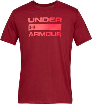 Under Armour Team issue wordmark ss hombre Rosa