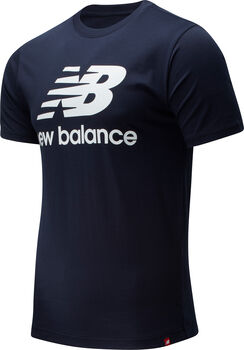 New Balance Sudadera Essentials Stacked Logo hombre Azul