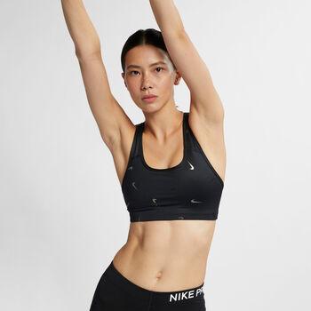 Nike Sujetador deportivo  Swoosh mujer Negro