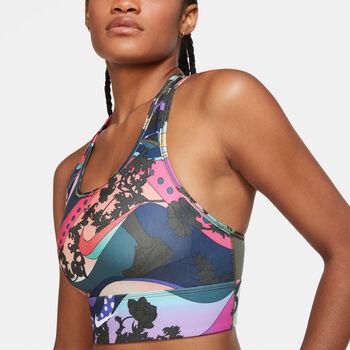 Nike Sujetador deportivo Swoosh Icon Clash mujer Multicolor