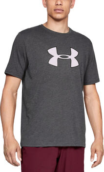 Under Armour Camiseta de manga corta UA Big Logo para hombre Gris
