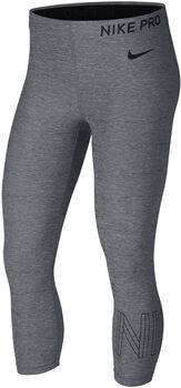 Nike Pro Capri htr Mujer Negro