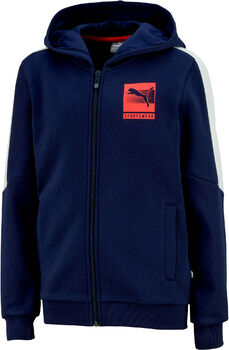 Puma Sudadera Hooded Full-Zip FL niño Azul