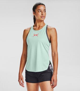 Under Armour Camiseta sin mangas UA Speed Stride Attitude mujer