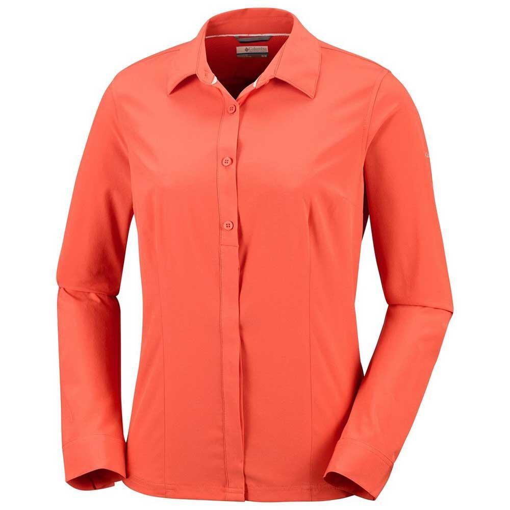 Columbia Saturday Camisa elástica para Mujer, Mujer